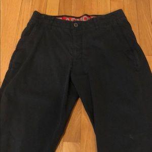 Men's Under Armour navy pants size 34 x 30